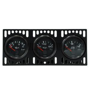Instrumentenhalter Zusatzanzeigen Audi S2 RS2 80 90 Halter VDO CNC druckschmiede schwarz