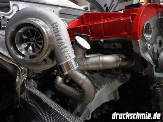 Custom Rohrkrümmer Edelstahl Twinscroll Garrett Turbolader GTX GT G 20VT Audi A4 1.8T B5