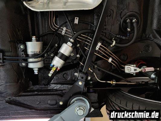 Spritsystem Bosch 044 Kraftstoff Benzin benzinleitungen bremsleitungen sprit unterboden restauration