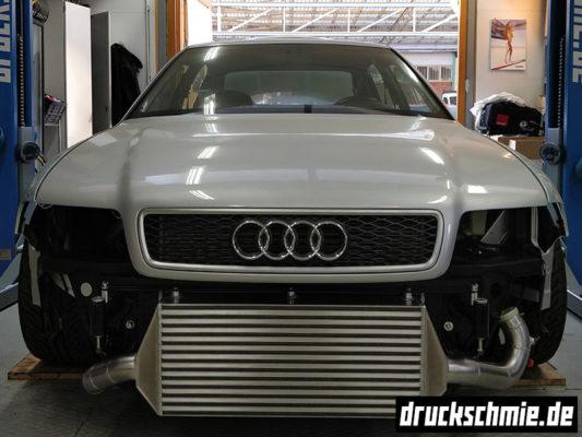 Audi A4 B5 S4 RS4 1.8T 20V BigTurbo LLK Ladeluftkühler FMIC