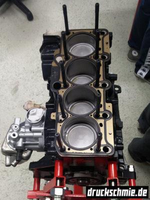 Motorblock motoraufbau 20vt 1.8t kolben pleuel bp agu bam apx amk