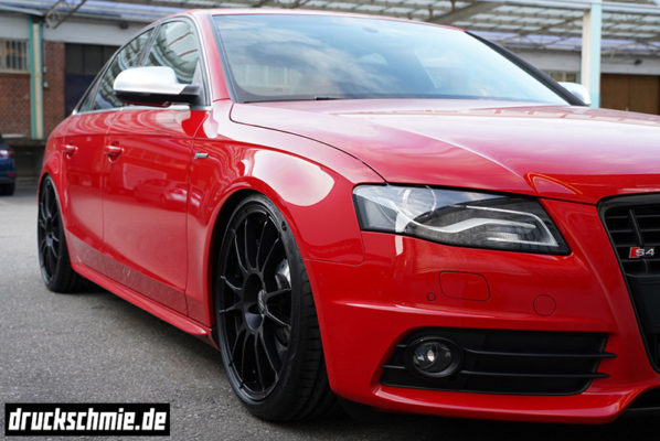 Audi S4 B8 8K supercharged kompressor 3.0tfsi misano red rot oz ultraleggera h&r hundr low limousine limo s5 black schwarz bigbrake upgrade forge apr 034 druckschmiede sergej