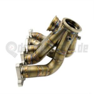 Rohrkrümmer Edelstahl manifold exhaust turbo dk turbo krümmer 2.2T ABY AAN ADU 5 Zylinder