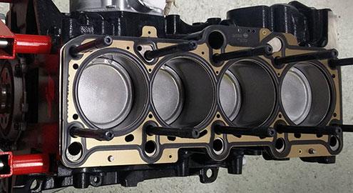 motorenbau audi vag zylinder motor engine rebuild bp pleuel kolben