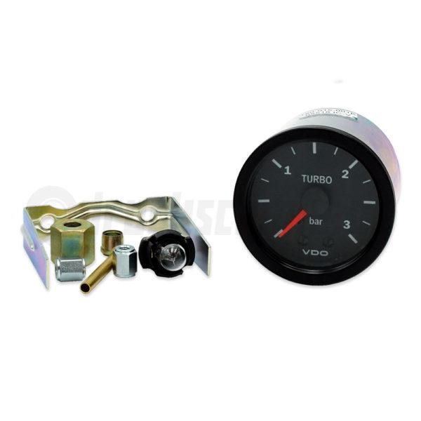 VDO Ladedruckanzeige Vision 52mm Turbo Turbolader Boost gauge pressure